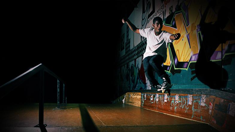 Carlos Montenegro @ Drop-in skatepark