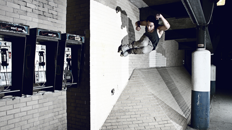 Jordan Baez: bank to wall ride