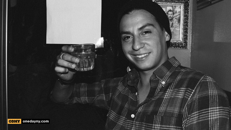 Victor Arias toasting it up w/ NYC