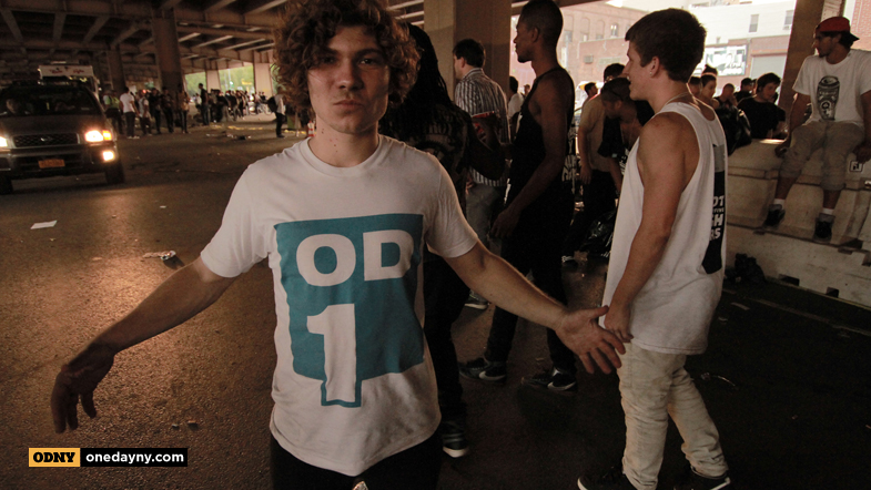 Dominik Wagner repping that ODNY1 Tee