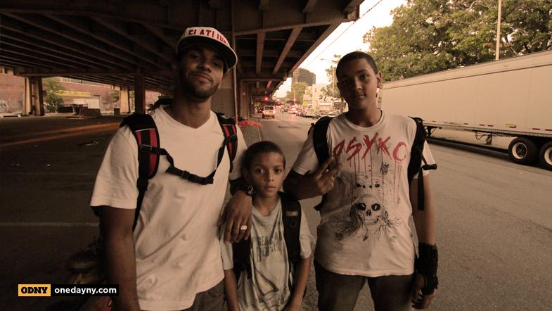 John Stephens and skate family